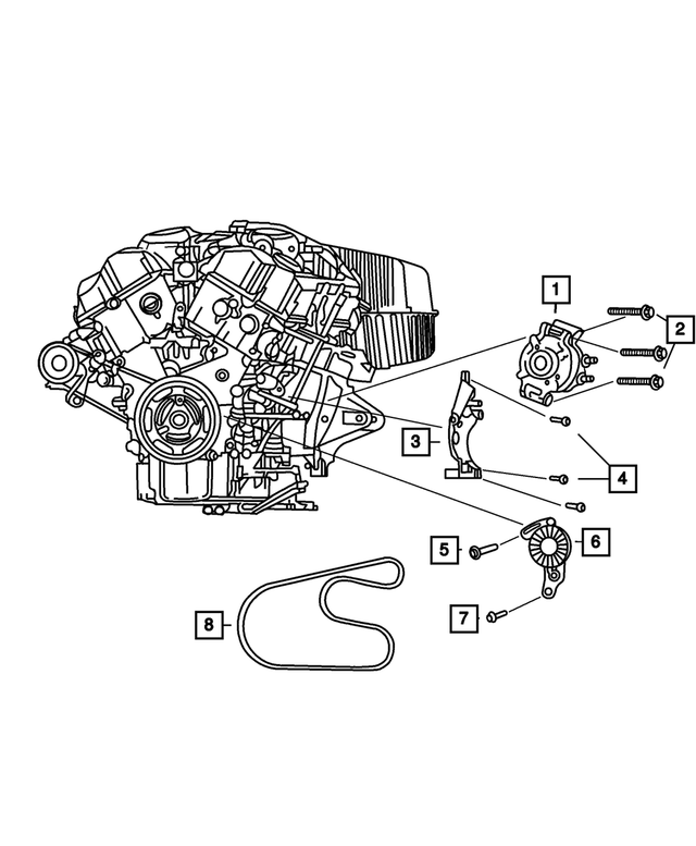 Alternator - Mopar (4606755AA)