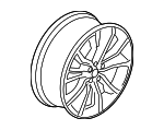 Wheel, Alloy - Ford (GA8Z-1007-A)