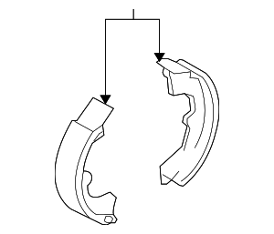 Brake Shoes - Toyota (04495-02212)