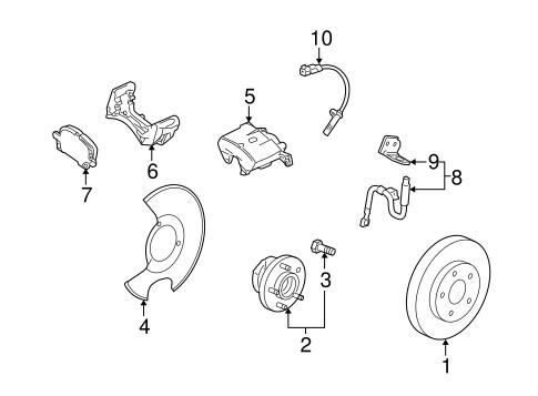 [SCHEMATICS_4FD]  OEM Front Brakes for 2014 Cadillac SRX | GMPartsCenter.net | Cadillac Brakes Diagram |  | GMPartsCenter.net
