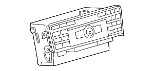 Radio - Mercedes-Benz (172-900-76-14)