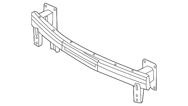 rail assembly-fr bumper