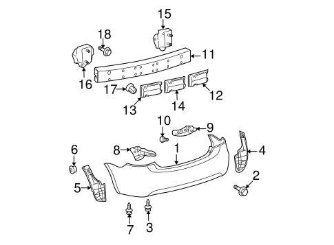 2007 toyota yaris sedan parts diagram