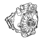 Alternator Replaced by Part Number 24288797