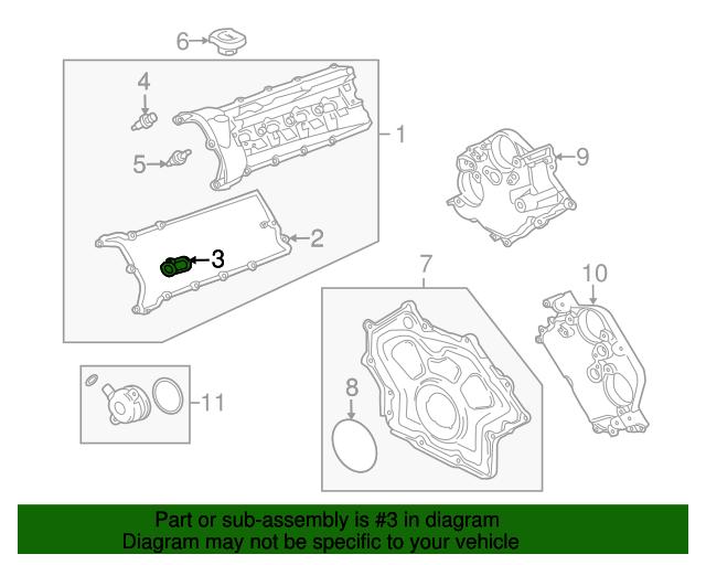 jaguar valve cover seal c2d3526 ftmyersjaguarparts rh parts ftmyersjaguar com