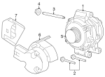 Alternator Stud - Mazda (9XG1-20-139L)