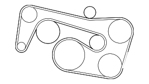 Belt - Mercedes-Benz (002-993-02-96)