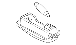 Compartment Lamp - Volkswagen (3B9-947-101-A-Y20)