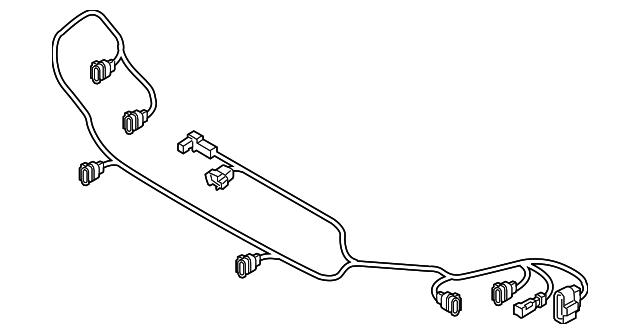 2018 audi q5 wire harness 80a