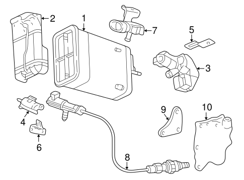 Gm Oil Air Separator 24574498 additionally Engine Blocks additionally Buick Regal 2dr Coupe Li 1987 Buick Regal T Type 331893430321 as well Gm Fuel Pump Assembly 19179627 together with Cabin Filter Location On 2008 Buick Lacrosse. on 1999 buick regal exhaust system
