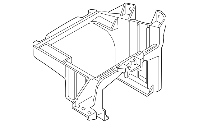 fuse box cover support