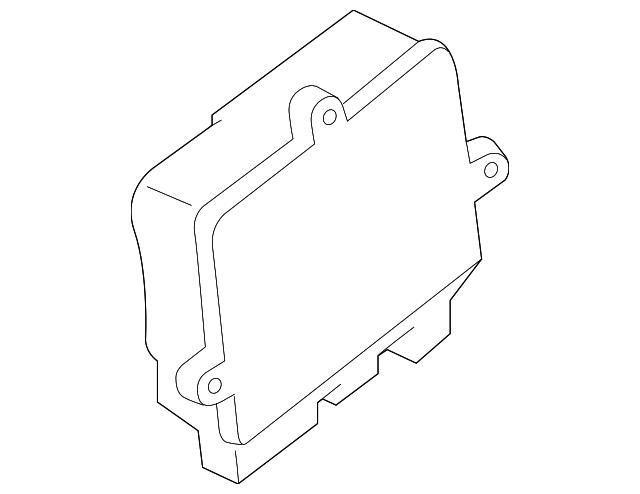 2017 2019 Ford Glow Plug Controller Hc3z 12b533 C