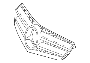 Grille Assembly - Mercedes-Benz (207-880-32-83-9040)