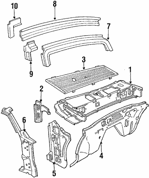 Cowl Panels For 1984 Ford Mustang