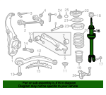 Shock Absorber - Jaguar (T2H26321)