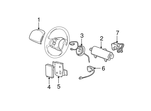 Air Bag Components For 2004 Ford F 150 Heritage
