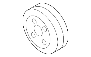 Crankshaft Pulley - Subaru (12305AA290)