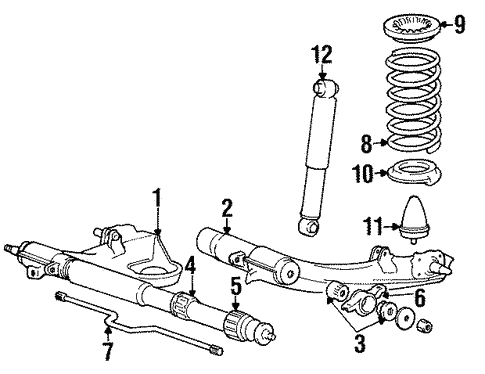 Rear Suspension For 1990 Dodge Colt