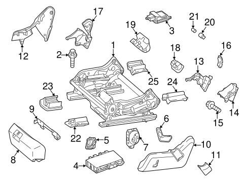 Tracks & Components for 1997 Mercedes-Benz E 320 #1