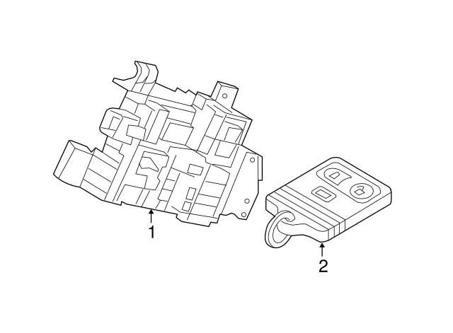 Ford F250 Body Control Module Location