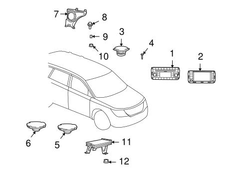 Sound System For 2010 Dodge Journey