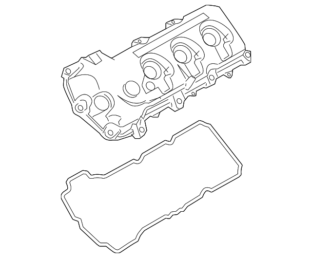 2007 2012 Ford Valve Cover 7t4z 6582 E