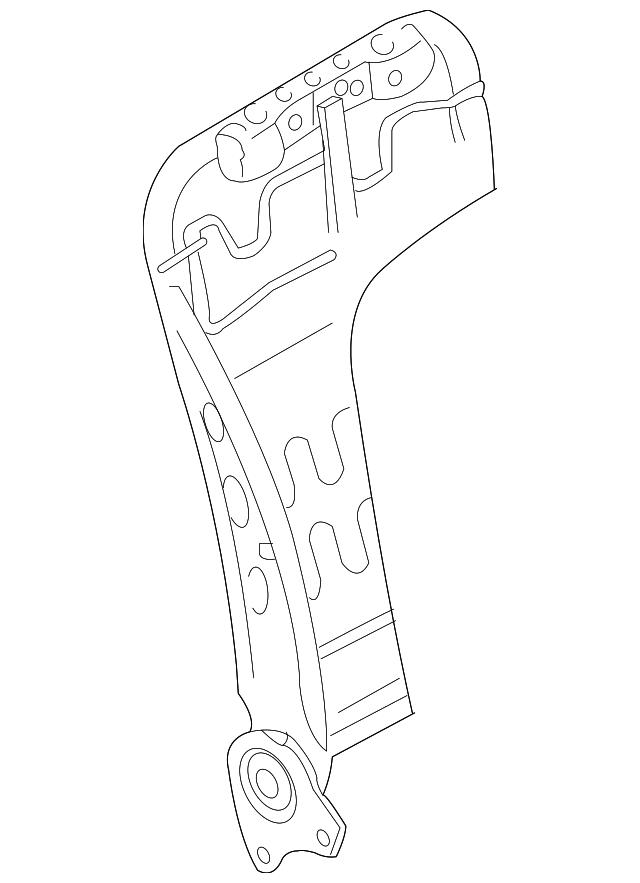 2007 2015 Infiniti Seat Back Frame 87601 1nm3a