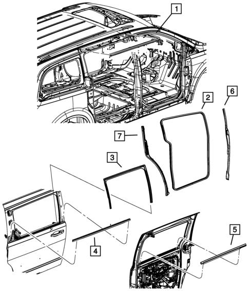 Dodge Caravan Dash Kit