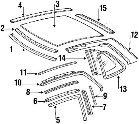 Hard top roof for 1987 mercedes benz 560 sl mbwholesale for Mercedes benz wholesale parts