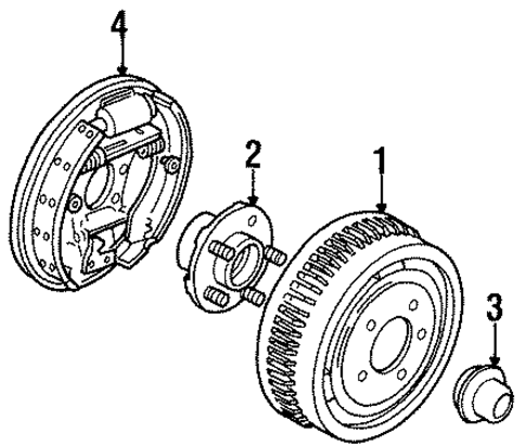 rear brakes for 1999 ford taurus
