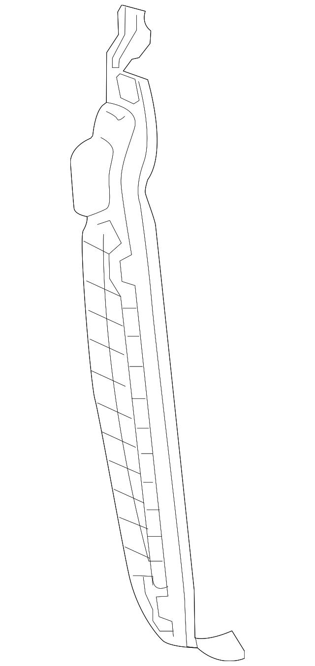 Genuine Kia Rear Seal 84142