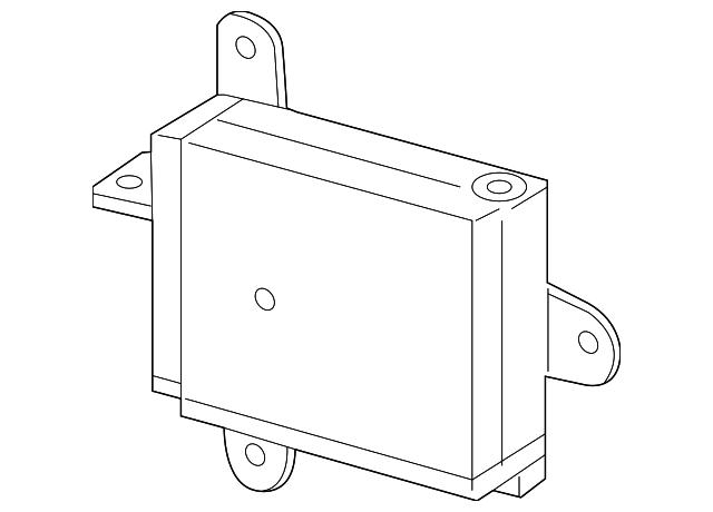 blind spot radar toyota 88162 0r010 toyota parts. Black Bedroom Furniture Sets. Home Design Ideas