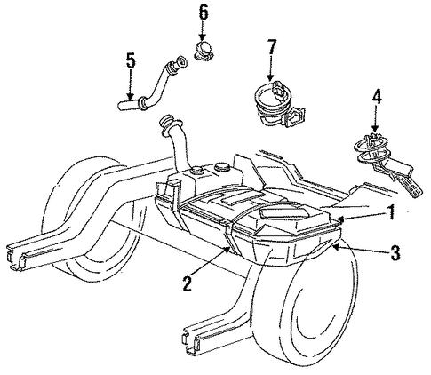 fuel system components for 1989 ford mustang. Black Bedroom Furniture Sets. Home Design Ideas
