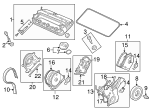 Grommet, Timing Belt Cover - Honda (11812-P8A-A00)