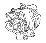 Alternator - Jaguar (T2H34202)
