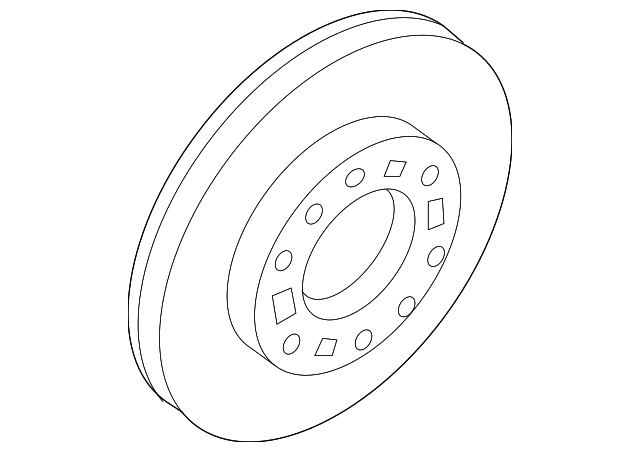 Genuine Hyundai 51712-4D500 Front Wheel Disc Brake