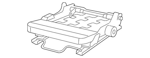 Genuine Mopar Seat Frame 68003071aa