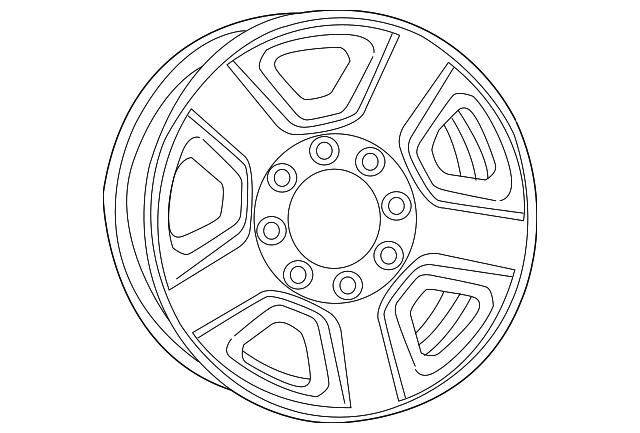 ram wheel  steel 1vu98s4aac
