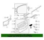 Handle, Inside - Ford (GJ5Z-5822600-CB)