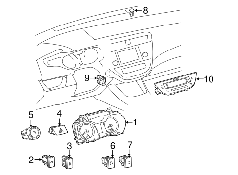 ELECTRICAL/TRUNK for 2014 Toyota Avalon #1
