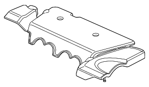 Cover Assembly, Engine - Acura (17121-PRB-A11)