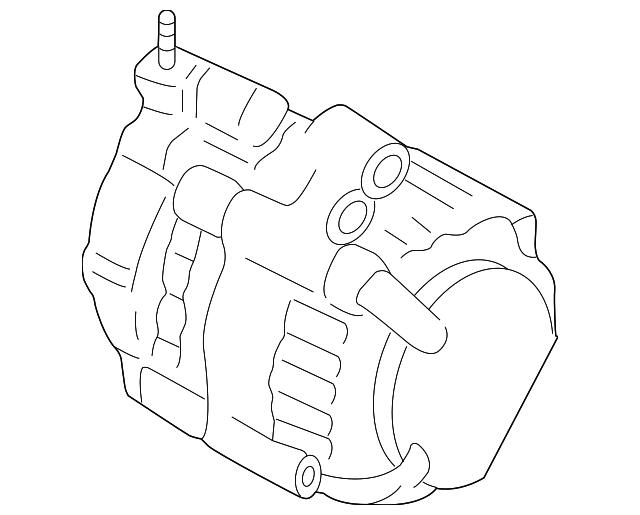 Genuine Honda Alternator 06311 5j6 505rm