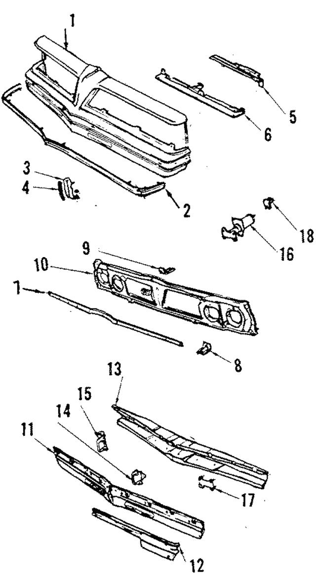 radiator - ford (hc3z-8005-c)
