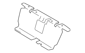 Back Panel Trim - Toyota (64166-AC020)