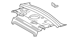 Package Tray - Toyota (64101-AC043)