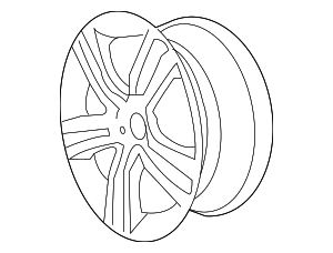 Wheel, Alloy - GM (92217687)