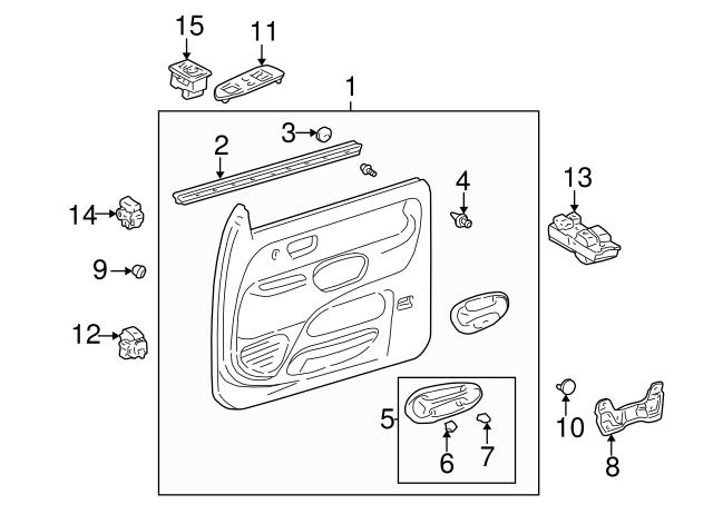 Toyota 67651-0C010-E1 Speaker Grille