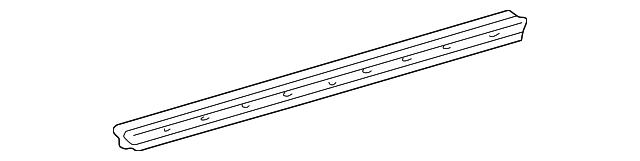 TOYOTA Genuine 68171-0C020 Door Glass Weatherstrip