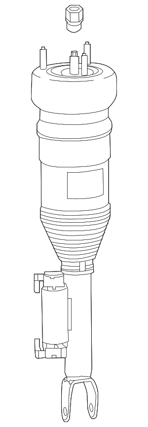 Strut - Mercedes-Benz (205-320-58-00)