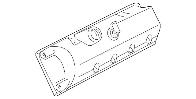 genuine ford valve cover 7w7z
